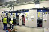Cuadros de control para una planta de grupos electrógenos en un hospital de Valladolid