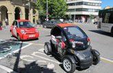 Primer servicio de alquiler compartido de vehiculo electrico en Navarra