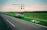 Autopistas inteligentes que brillan en la oscuridad