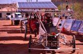 Comienza la Carrera solar por el desierto de Atacama