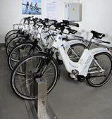 Primera estación de bicicletas eléctricas en Madrid