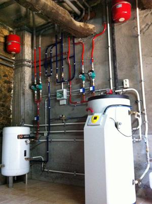 Chimenea calefactora y cocina econ mica para climatizaci n for Chimenea calefactora