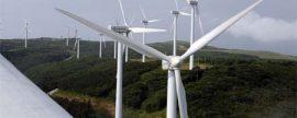 La eólica logra superar a los fósiles en generación de electricidad en Uruguay