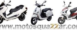 Motos eléctricas Quazzar con batería extraíble