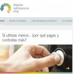 BajateLaPotencia.org propone rebajar la factura de la luz reduciendo la potencia eléctrica contratada