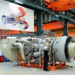Una turbina de gas de alta eficiencia se carga en solo diez minutos para la generación de energía