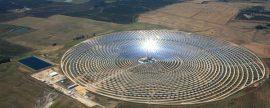 La energía termosolar en España cubrió el 4% en verano