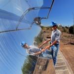 Cómo almacenar energía termosolar en silicio fundido