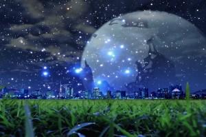 ciencia-ficcion-paisajes-ciudad-luminosa