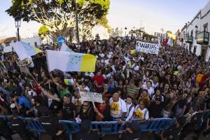 manifestación canarias