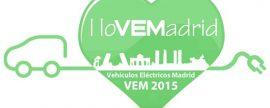 VEM 2015. El encuentro del vehículo eléctrico de Madrid se celebrará en abril
