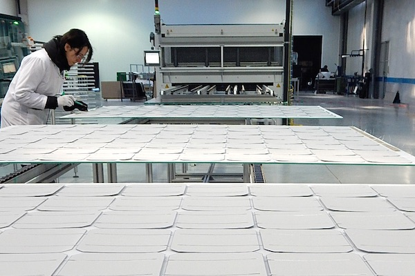 Onyx solar instala una f brica de vidrio fotovoltaico en - Fabricas de cristal en espana ...