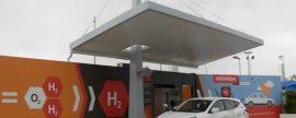 Abengoa pone en marcha una estación de servicio para vehículos de hidrógeno en Sevilla