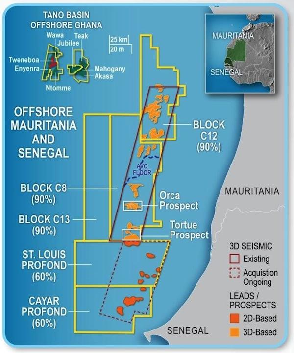kosmos energy en mauritania