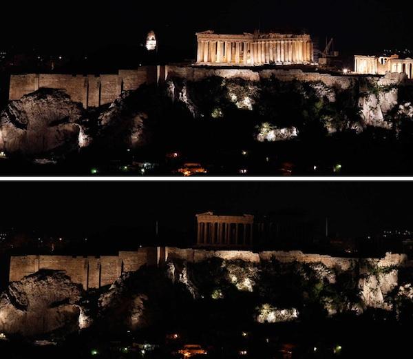 Partenón. Atenas.