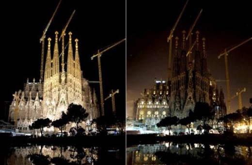 Templo Expiatorio de la Sagrada Familia. Barcelona.