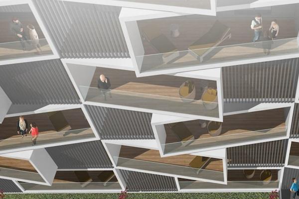 Se construye el primer bloque de viviendas Passivhaus de España