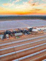 La planta termosolar de Bokpoort, récord africano de suministro continuo