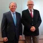 El Presidente del Grupo CLH se reúne con el Consejero de Empleo, Empresa y Comercio de la Junta de Andalucía