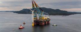 El mayor parque eólico flotante del mundo muestra el potencial de la eólica marina
