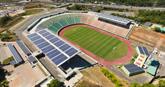 Primer estadio de futbol latinoamericano con instalación solar fotovoltaica