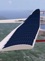El primer avión propulsado por energía solar sobrevuela el cielo estadounidense