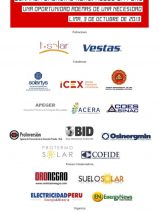 Jornada Energías Renovables en Perú