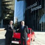 Gas Natural Fenosa y Seat acuerdan el desarrollo del gas natural para la automoción en España
