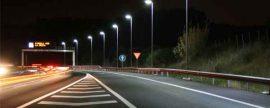 Anfalum denuncia que los recortes en la iluminación de carreteras hacen peligrar la seguridad vial