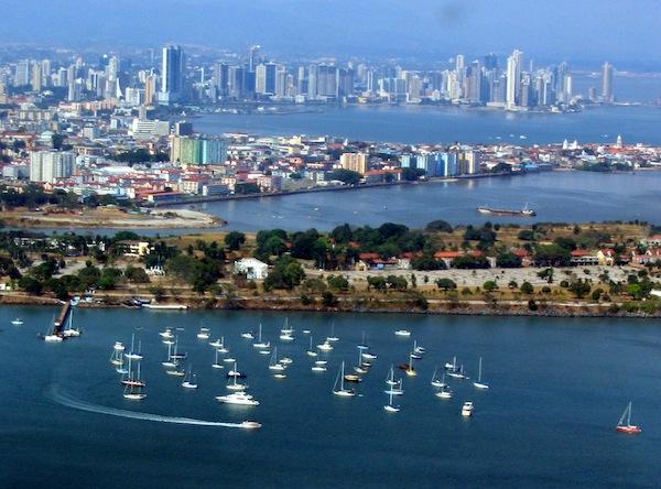 Visión panorámica de Panamá