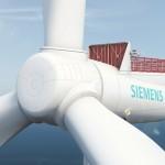 El viento marino generará energía más barata con un nuevo aerogenerador de Siemens, tres veces más ligero