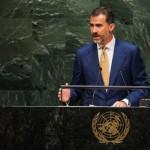 """Felipe VI ante la ONU: """"España es el primer país del mundo en el que la eólica es la primera fuente de electricidad"""""""