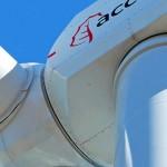 Un nuevo aerogenerador de Acciona Windpower aumenta el diámetro de su rotor para aprovechar vientos bajos