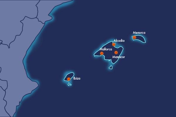 Nuevo cable eléctrico entre Mallorca y Menorca