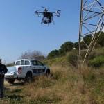 Una nueva era en el mantenimiento del tendido eléctrico ha llegado con el uso de los drones