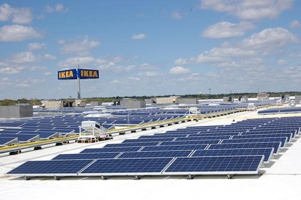 Ikea destinar millones de euros contra el cambio for Kansas solar installers