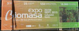 Expobiomasa se convierte en una Feria bienal y la próxima cita será en septiembre del año 2017