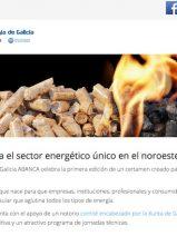 La I Feria de la Energía de Galicia se celebrará del 14 al 16 de abril en Silleda, Pontevedra