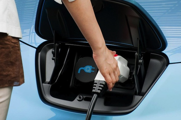 Recargar un vehículo eléctrico