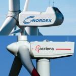 La alemana Nordex compra la poderosa Acciona Windpower por 785 millones de euros
