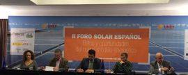 El II Foro Solar Español, punto de debate del nuevo modelo energético