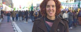 """María Pastor de Podemos: """"El mix eléctrico debe ser renovable y no debe incluir nuclear ni carbón"""""""
