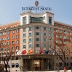 El hotel InterContinental Madrid instalará un cargador para coches eléctricos en su parking