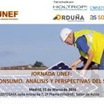 La fotovoltaica UNEF organiza una Jornada para informar sobre el Autoconsumo el 15 de marzo