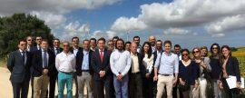 Medina Sidonia, Premio a la Integración Rural de la Eólica 2016, centró ayer las actividades del Día Mundial del Viento