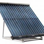 Nuevos captadores de tubos de vacío ligeros y eficientes para cubiertas solares