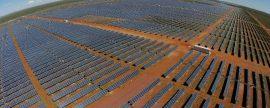 Villanueva, la mayor planta fotovoltaica en construcción del continente americano