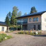 Primera casa de madera de consumo de energía cero en Finlandia