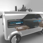 El concepto Autolivery combina furgonetas eléctricas autónomas y drones