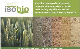 El proyecto ISOBIO busca soluciones para ayudar a descarbonizar la construcción